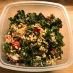 Winterlicher Grünkohl-Salat